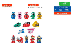 【已截訂】Bandai Super Sentai Kits [BOX 20入]
