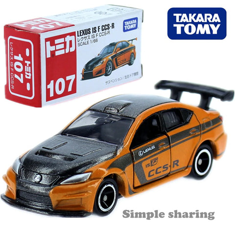 【現貨】TAKARA TOMY Tomica NO. 107 Lexus IS F CCS-R