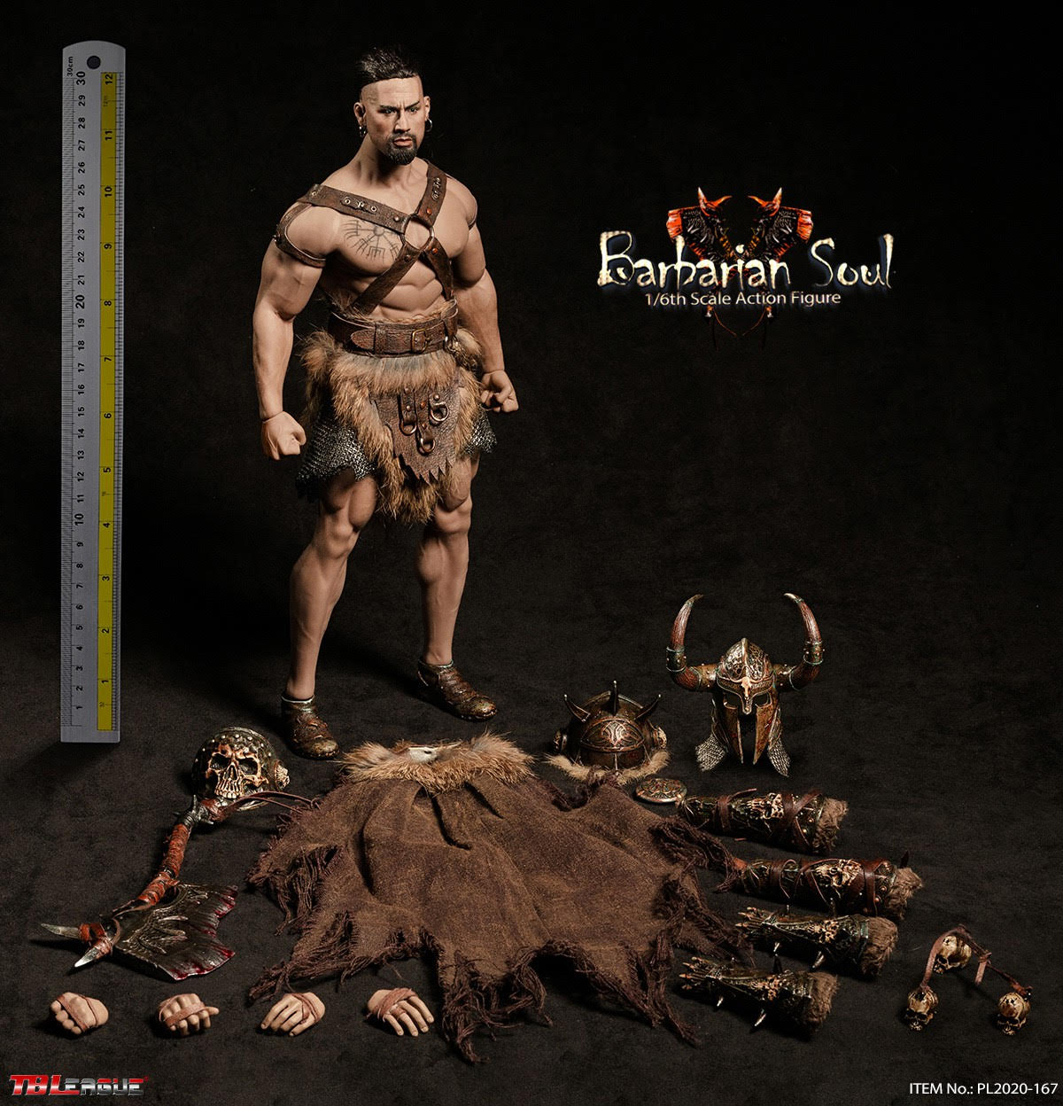 【已截訂】TBLeague 1/6 Barbarian soul Action Figure