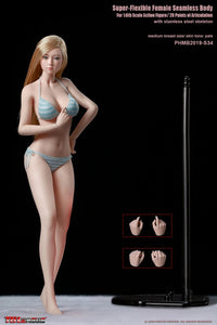 1/6th Female Super-Flexible Seamless Body - S34 | Action Figure | TBLeague【現貨】