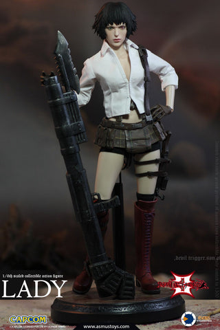 【預訂日期至06-Jul-19】Asmus Toys THE DEVIL MAY CRY SERIES  LADY (DMC III) Action Figure
