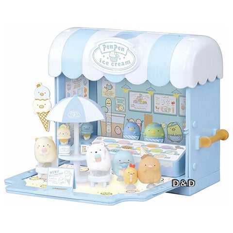 GL Sumikko Gurashi-Sticky Penguin Ice-cream Wagon | 角落生物 雪糕店 | Takara Tomy【現貨】