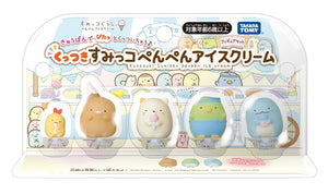 GL Sumikko Gurashi-Sticky Penguin Ice Cream Figure Set | 角落生物雪糕商店 人偶組 | Takara Tomy【現貨】