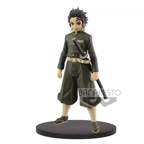 【現貨】Banpresto Tanjiro Kamado Hunter Uniform Sepia Color Kizuna no Sou Vol 7 PVC Figure