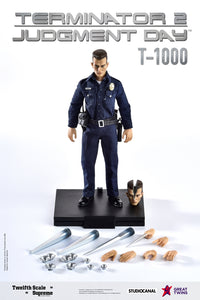 【已截訂】Great Twins Terminator 2 Judgement Day T-1000 Normal Version 1/12 Action Figure