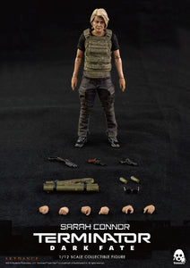 【已截訂】Threezero 3A Terminator  Dark Fate Sarah Connor 1/12 Action Figure