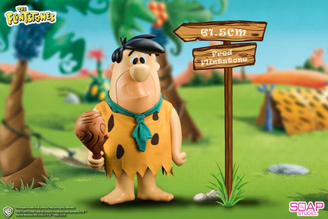 【已截訂】Soap Studio The Flintstone - Fred 24inch Vinyl Figure