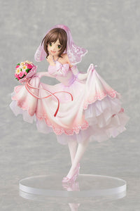 【預訂日期至12-Oct-19】KNEAD The Idolmaster Cinderella Girls Maekawa Miku Dreaming Bride Ver. Limited Edition 1/7 PVC Figure