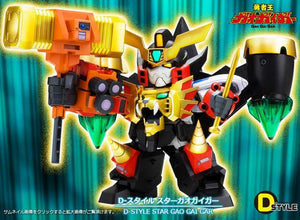 【已截訂】Kotobukiya The King of Braves Gaogaigar D-Style Star Gaogaigar Plastic Model Kit [再販]