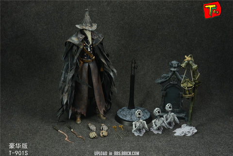 【預訂日期至27-Oct-19】Toy Blood Hunter Bloodcurse The Raven Hunter 1/6 Action Figure 豪華版