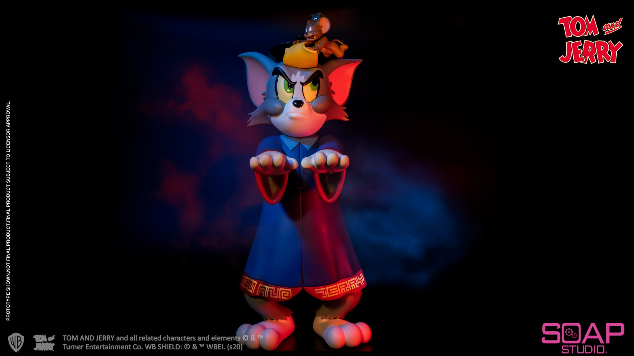 【已截訂】Soap Studio Tom & Jerry - Zombie PVC Figure