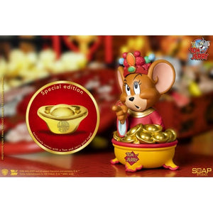 【已截訂】Soap Studio Tom and Jerry (God of Wealth) PVC Figure