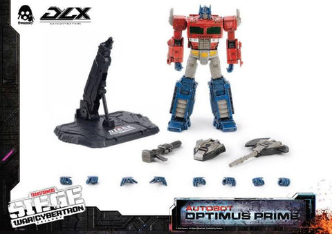 【已截訂】Threezero Transformers - War For Cybertron Trilogy – DLX Optimus Prime