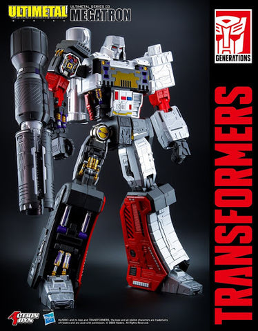 【預訂】Action Toys Transformers Ultimetal Megatron Action Figure