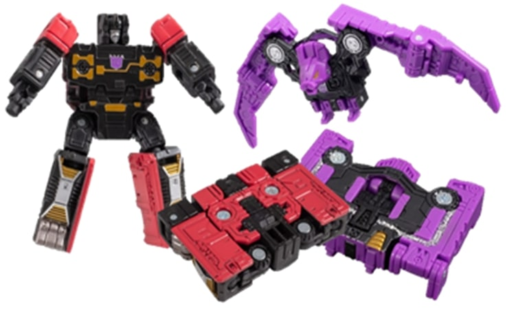 【已截訂】TAKARA TOMY Transformers SG-41 Rumble and rat bat Action Figure