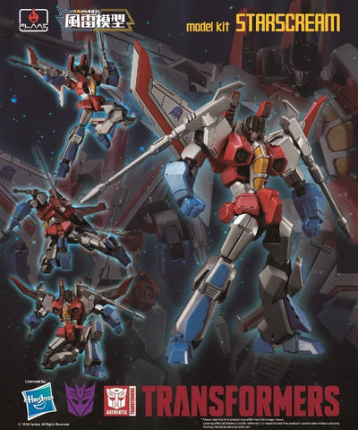 【已截訂】Flame Toys Transformers Starscream Plastic Model Kit