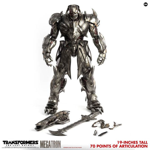 【已截訂】Hasbro x 3A Transformers The Last Knight Megatron Standard version Action Figure [通常版]