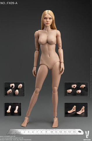 【預訂日期至09-Jun-20】VERYCOOL Western Beauty Head Sculpt + VC 3.0 Female Body Set 1/6 Action Figure