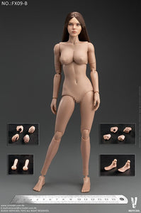 【預訂日期至09-Jun-20】VERYCOOL Western Beauty Head Sculpt + VC 3.0 Female Body Set   FX09  B 1/6 Action Figure