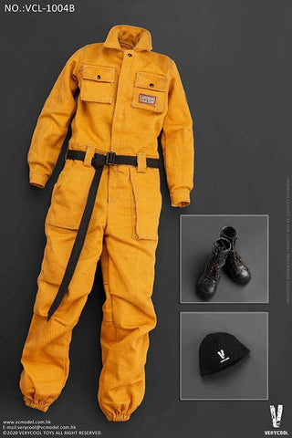 【預訂日期至09-Jun-20】VERYCOOL Work-Wear Set   VCL-1004B 1/6 Parts Set