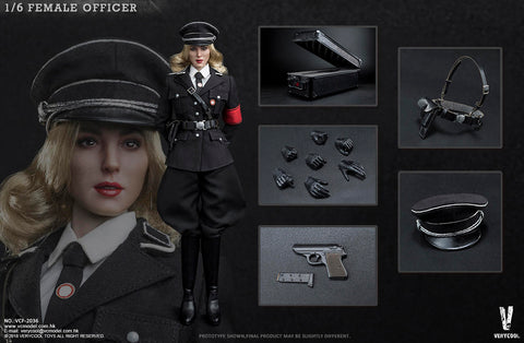 【預訂】VERYCOOL VCF-2036 Female Officer 1/6 Action Figure