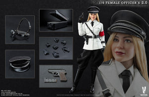 【預訂】VERYCOOL VCF-2051 Female SS Officer 2.0 1/6 Action Figure