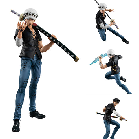 【已截訂】Megahouse Variable Action Heroes One Piece Series Trafalgar Law Action Figure