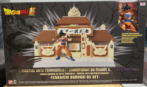 World Martial Arts Tournament -Tenkaichi Budokai- DX SET | 擂台場景DX套裝 Action Figure | Bandai【現貨】