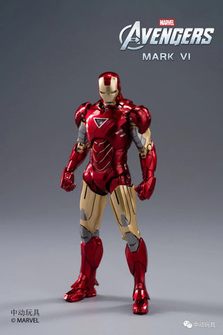 【預訂日期至26-Oct-20】ZD Toys(中動玩具) Iron Man MARK VI Action Figure