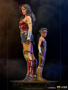 【預訂日期至16-Oct-20】Iron Studios Wonder Woman & Young Diana Deluxe Art Scale 1/10 - WW84 statue
