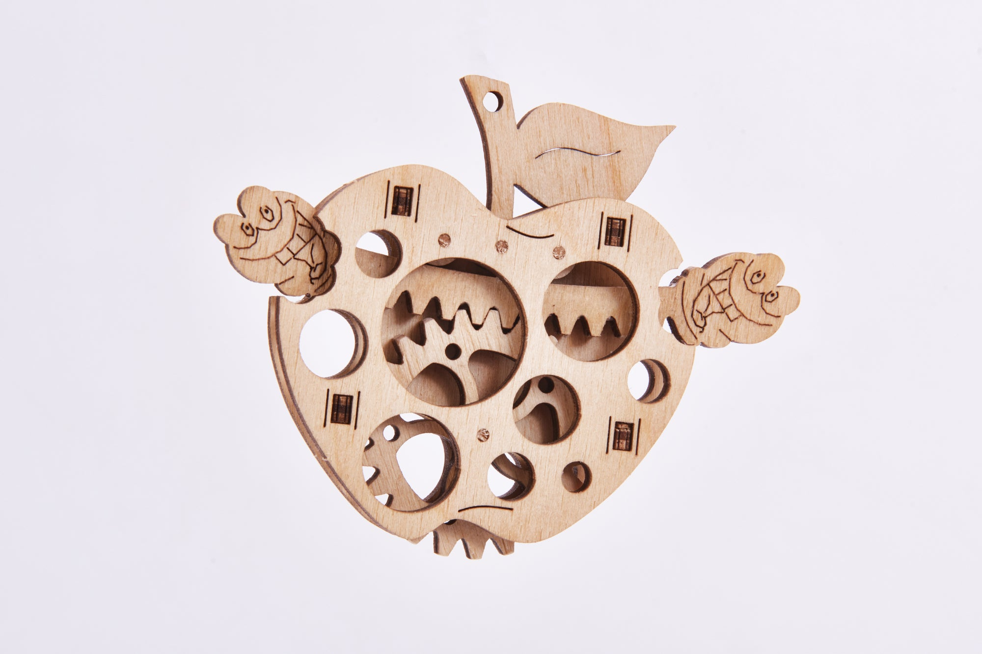 【現貨】The Hariman Wood Trick 3D Puzzle Woodik Apple