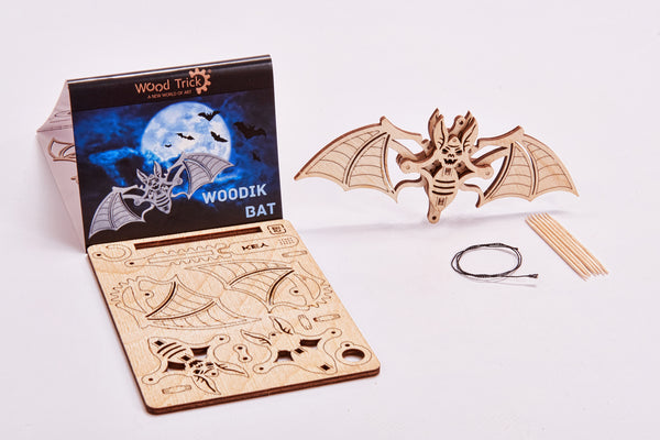 【現貨】The Hariman Wood Trick 3D Puzzle Woodik Bat