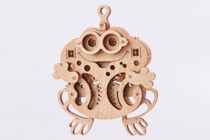 【現貨】The Hariman Wood Trick 3D Puzzle Woodik Frog