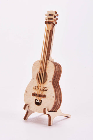 【現貨】The Hariman Wood Trick 3D Puzzle Guitar