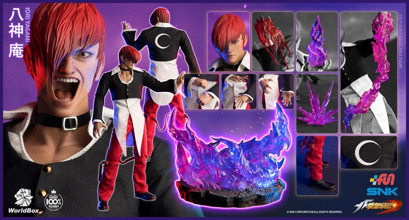 【已截訂】WorldBox 《The King Of Fighters》Iori Yagami Collectible Figure DX Ver. 1/6 Action Figure