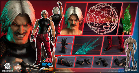 【預訂】World Box – KF101 - The King Of Fighters- 1/6th scale RUGAL Collectible Action Figure
