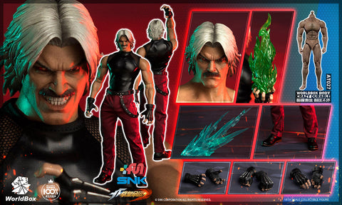【預訂】World Box – KF102 - The King Of Fighters- 1/6th scale RUGAL Collectible Action Figure