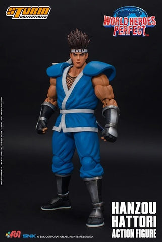 【現貨】Storm Collectibles World Heroes Perfect - Hanzou Hattori Action Figure