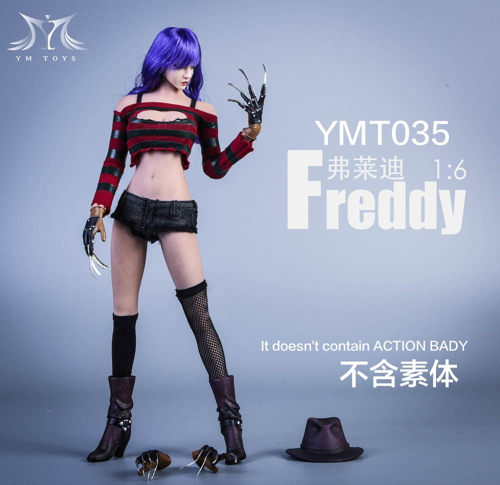 【已截訂】YMTOYS YMT035 Freddy 1/6 Parts [不包素體]