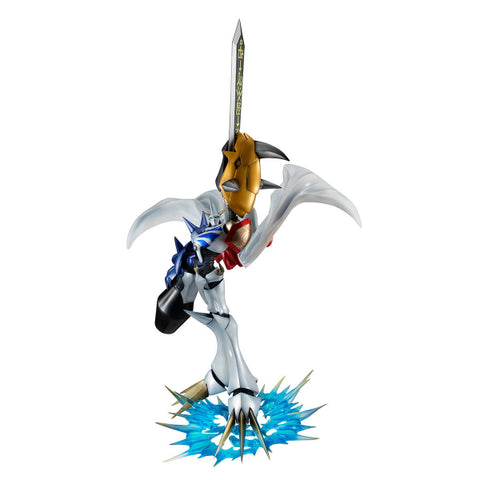【已截訂】Mega House Digimon Adventure G.E.M. Omegamon PVC Figure