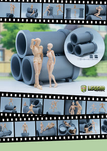 【現貨】Legend Studio 1/12 Water Pipes Scene