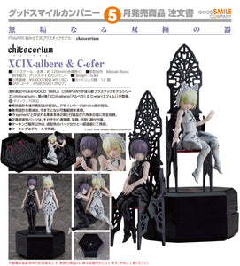 【預訂日期至04-Dec-20】Good Smile Company chitocerium XCIX-albere & C-efer Model Kits(模型)