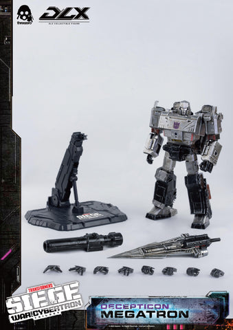 【預訂日期至28-Sep-20】Threezero Transformers War For Cybertron Trilogy – DLX Megatron Action Figure
