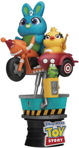 【預訂日期至11-Jul-20】Beast Kingdom~Diorama Stage-062-Bunny & Ducky Coin Ride  PVC Figure