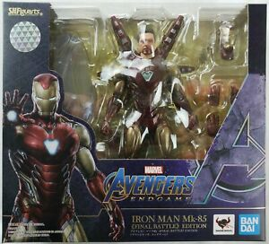 Marvel SHF Iron Man Mk-85 Final Battle Edition | S.H.Figuarts Action Figure | Bandai【現貨】