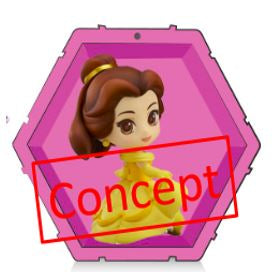 【預訂-數量有限,額滿即止】Bandai Wow! POD - Disney Princess -Belle