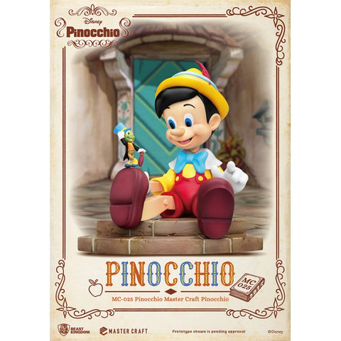 【預訂日期至11-Jul-20】Beast Kingdom~Master Craft MC-025 Pinocchio Master Craft Pinocchio PVC Figure
