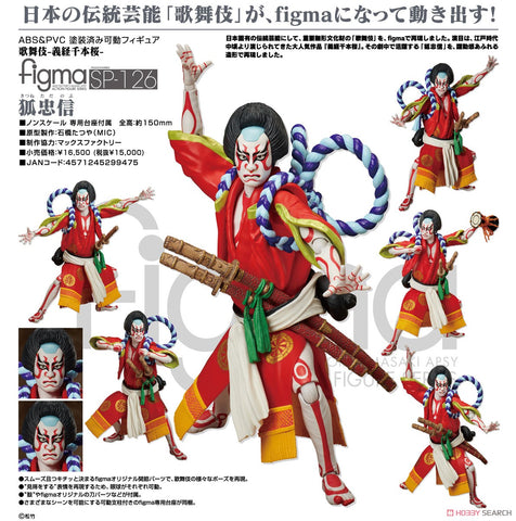 【預訂日期至05-May-20】FREEing figma No.SP-126 Kitsune Tadanobu Action Figure