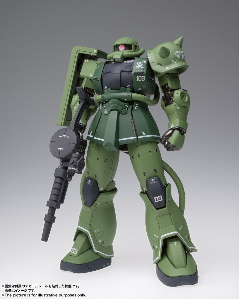 【已截訂】Bandai GFFMC MS-06C ZAKU Ⅱ TYPE C Action Figure
