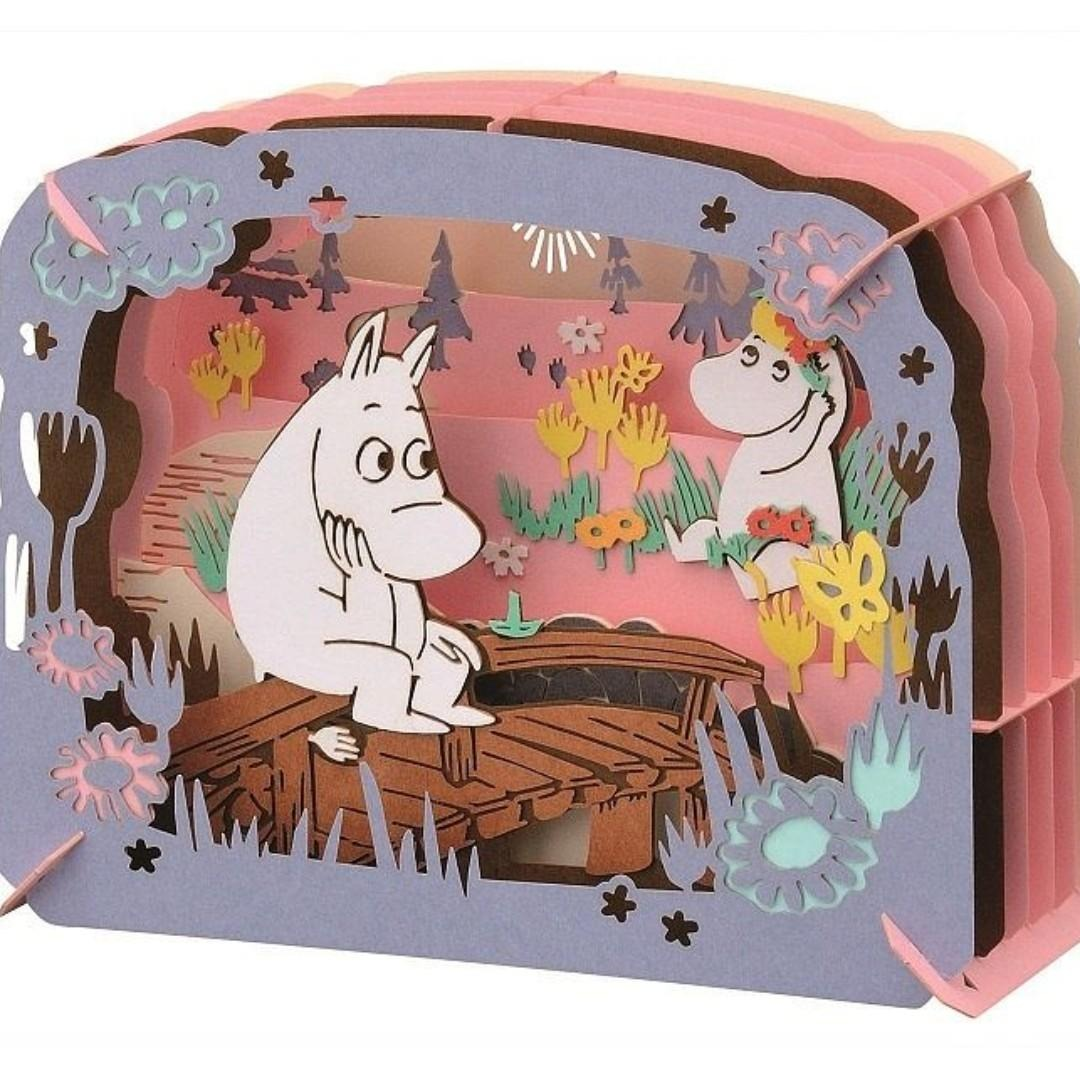 Moomin on The Moomin Bridge PT-082 | Paper Theater 紙劇場 | Ensky【現貨】